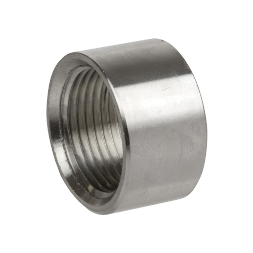 Smith-Cooper® S3114HC003 S3014HC Half Coupling, 3/8 in Nominal, FNPT End Style, 150 lb, 304 Stainless Steel