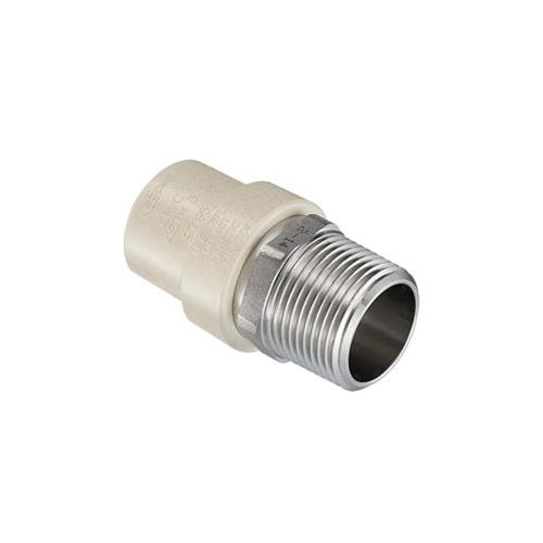 Spears® EverTUFF® 4136-007SS Male Adapter, 3/4 in, Socket x MNPT, SCH 40/STD, CPVC, Domestic