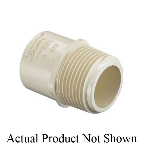 Spears® EverTUFF® CTS 4136-007 Male Adapter, 3/4 in, MNPT x Socket, CPVC, Domestic