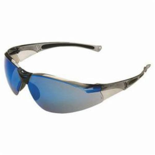 Uvex® by Honeywell A800 General Purpose Safety Eyewear, Anti-Scratch/Hard Coat, Clear Lens, Wrap Around Frame, Clear, Polycarbonate Frame, Polycarbonate Lens, ANSI Z87.1-2010