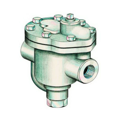 Spirax Sarco 62801, B3 Inverted Bucket Steam Trap, 1 in, FNPT, 450 deg F, 125 psi, Cast Iron