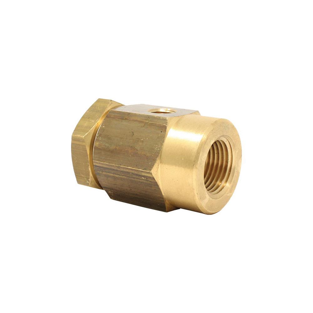 Spirax Sarco 0190190, VB14 Vacuum Breaker, 1/2 x 1/8 in, NPT, Brass Body