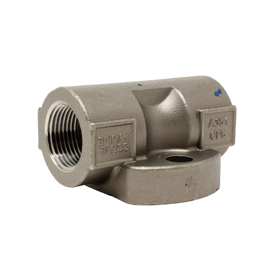 Spirax Sarco 66180 Universal Connector, 3/4 in NPT, Stainless Steel