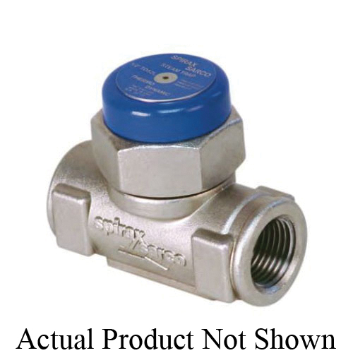 Spirax Sarco Thermo-Dynamic® 54531C, TD52 Steam Trap, 3/4 in, FNPT, 800 deg F, 600 psi, Stainless Steel