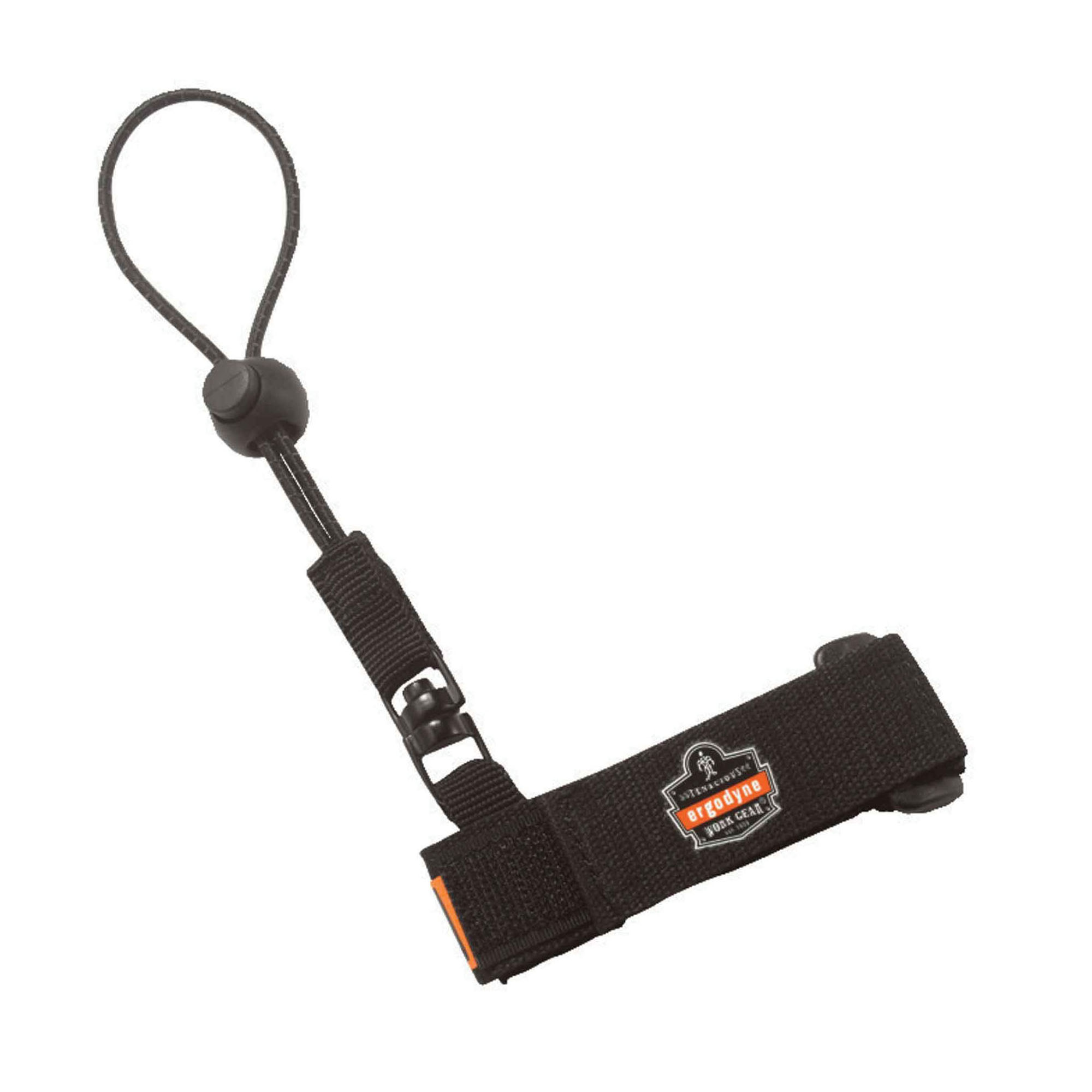 Squids® 19042 3115 Wrist Tool Lanyard, 2 lb Load Capacity, 7-1/2 in L, Polyester Webbing Line, 1 Legs, Choke-Off Loop Harness Connection Hook, Specifications Met: ANSI/ISEA 121-2018