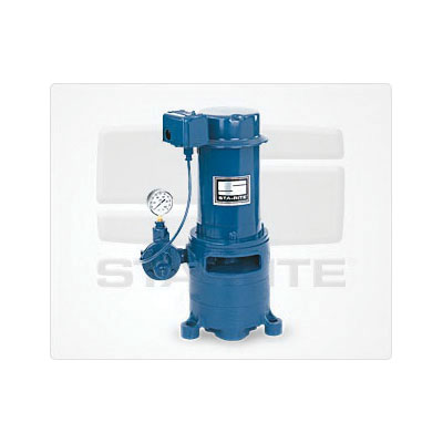 STA-RITE® MSE Multi-Stage Deep Well Jet Pump, 12.1 gpm Flow Rate, 1-1/4 in Inlet x 1 in Outlet, 1 hp, Cast Iron