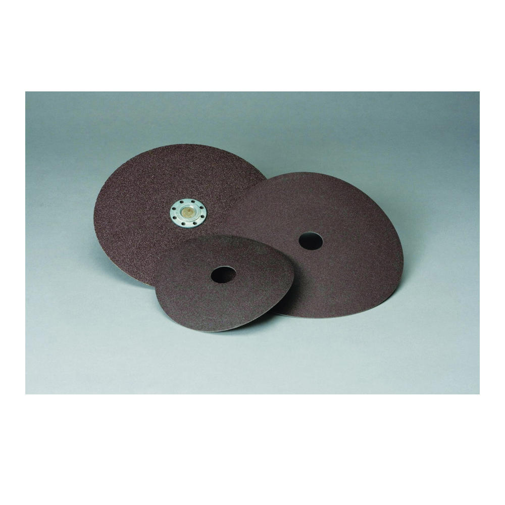 Standard Abrasives™ 051115-33403 531106 Close Coated Quick-Change Closed Coated Abrasive Disc, 5 in Dia Disc, 80 Grit, Medium Grade, Aluminum Oxide Abrasive, Quick-Change Type TS Attachment