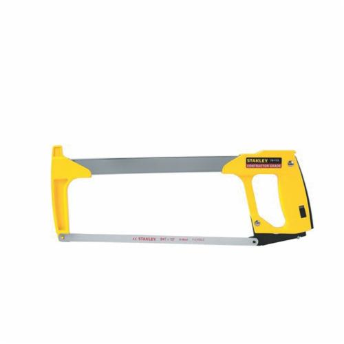 Stanley® FatMax® 15-106A Coping Saw, 6-3/4 in L High Carbon Steel Blade, 6-3/4 in D Throat