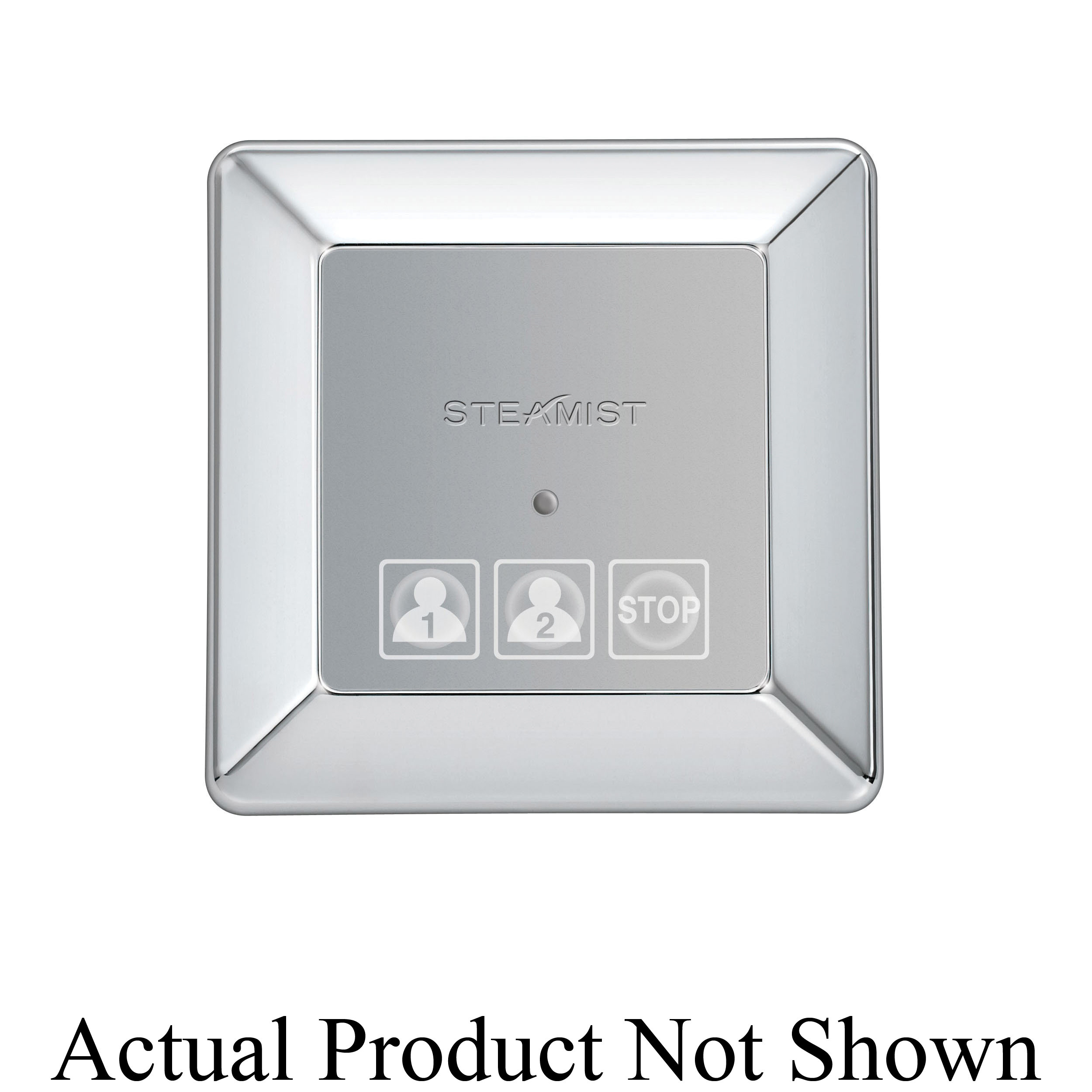 Steamist® 220-BB TSX-220 Contemporary Steambath Control, Total Sense™, LED Display, Brushed Bronze, For Use With: Model TSC-450 Steambath Control, Domestic