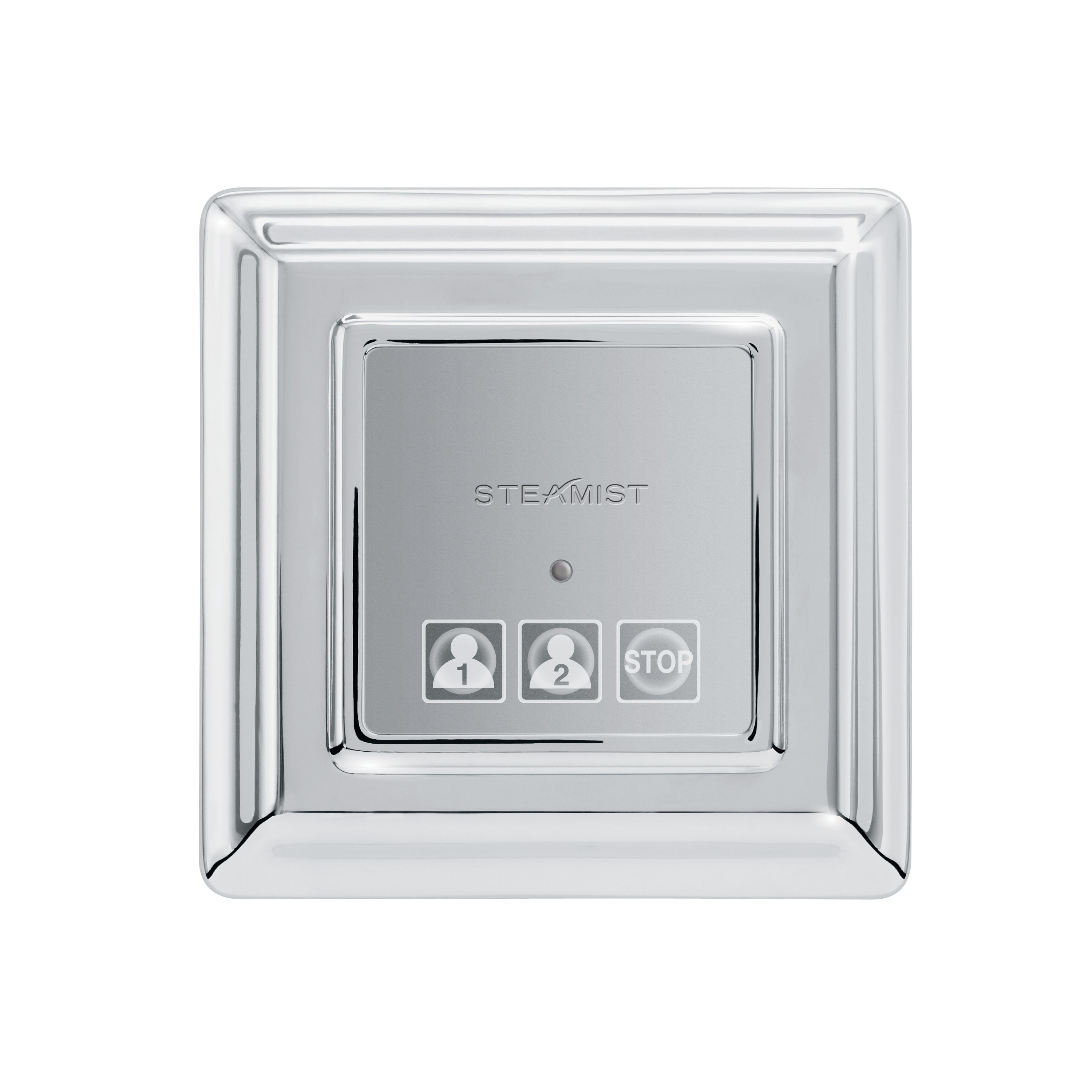 Steamist® 220T-PC TSX-220T Traditional Steambath Control, Total Sense™, LED Display, Polished Chrome, For Use With: Model TSC-450 Steambath Control, Domestic