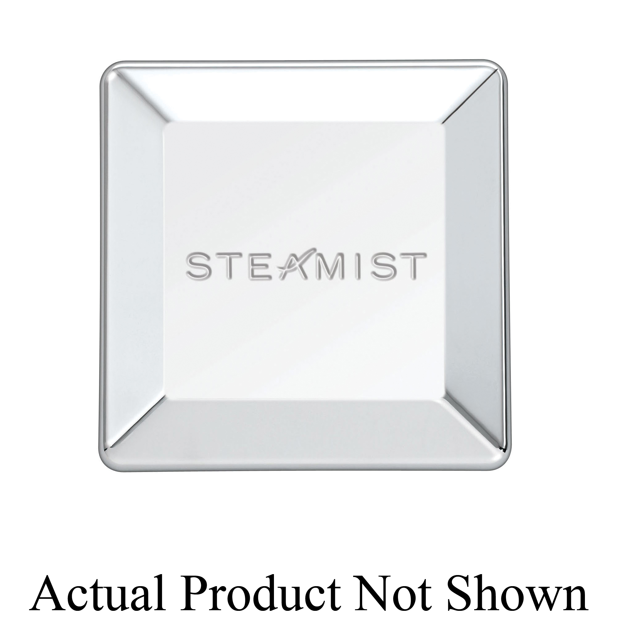 Steamist® 3199-PG Universal Steam Head, 3 in H x 3 in W, FNPT Connection, Brass, Domestic