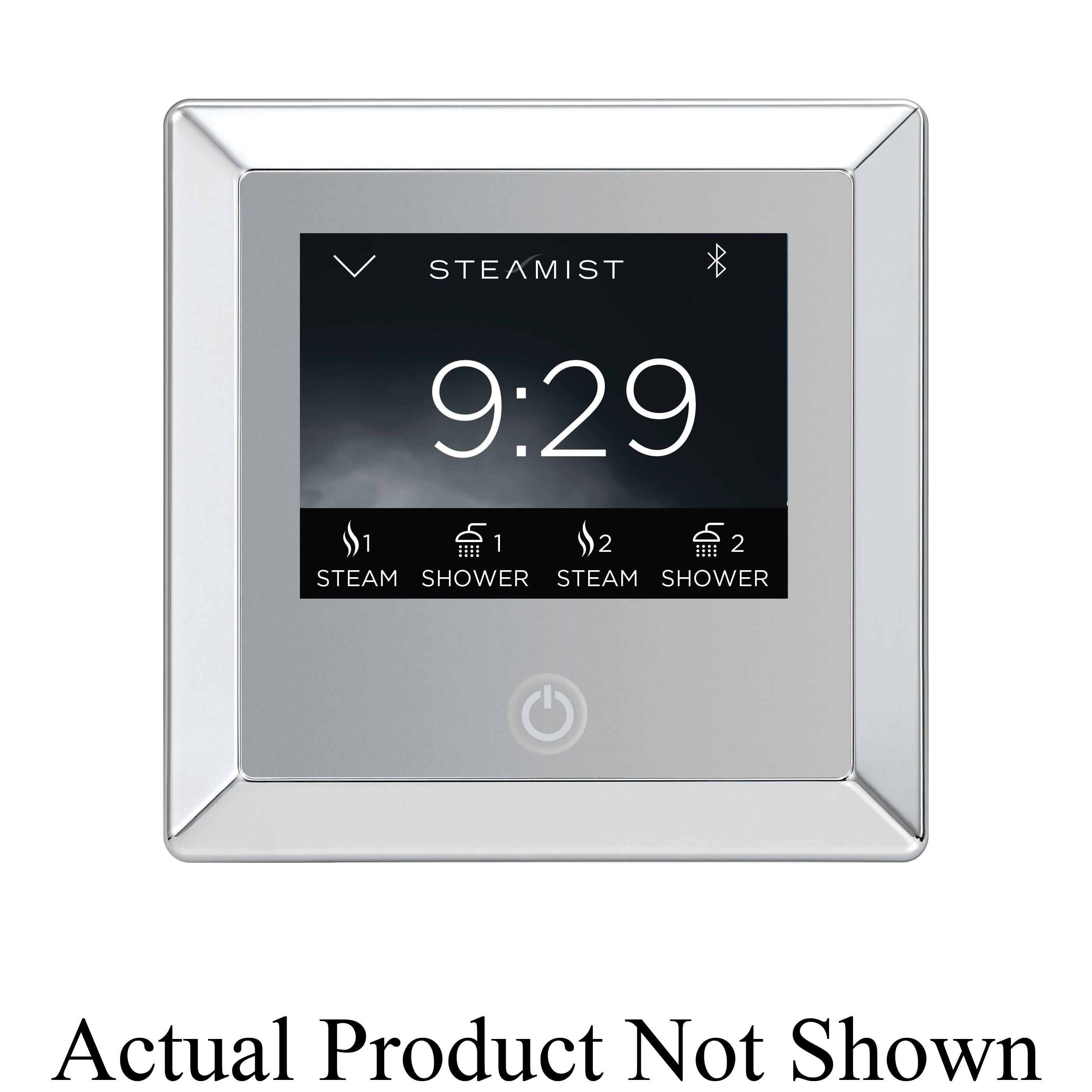 Steamist® 450-PG TSC-450 Contemporary Steambath Control With Wi-Fi, Total Sense™, Digital Display, 50 to 125 deg F, Polished Gold, For Use With: Model TSG Steam Generator, Domestic