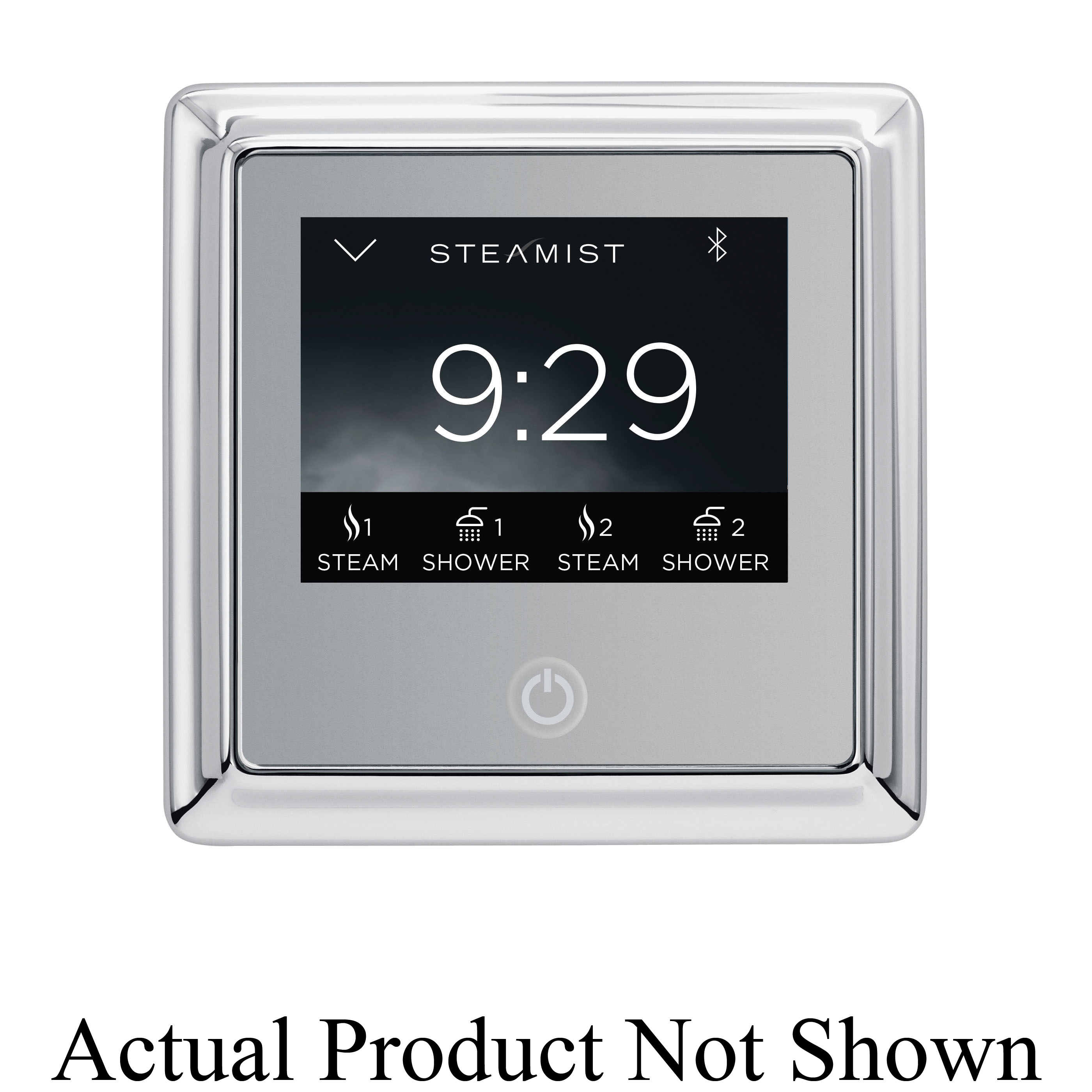 Steamist® 450T-PG TSC-450T Traditional Steambath Control With Wi-Fi, Total Sense™, Digital Display, 50 to 125 deg F, Polished Gold, For Use With: Model TSG Steam Generator, Domestic