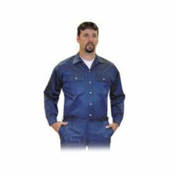 Steel Grip NBV8 9575-L Flame-Resistant Shirt, L, Navy Blue, VINEX® FR-9B®