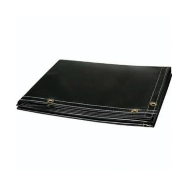 Steiner® Velvet Shield® 316-8X8 Heavy Duty Welding Blanket, 8 ft W x 8 ft L, 0.15 to 0.2 in THK, 16 oz/sq-yd Fabric, Carbonized Fiber, Black
