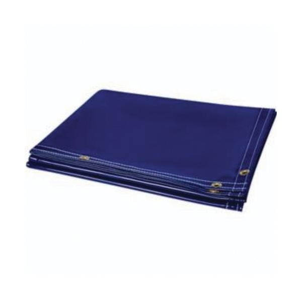 Steiner® ArcView™ 322-6X8 Flame Retardant Welding Curtain, 8 ft L x 6 ft W, 14 mil THK, Tinted Transparent Vinyl, Shade 8