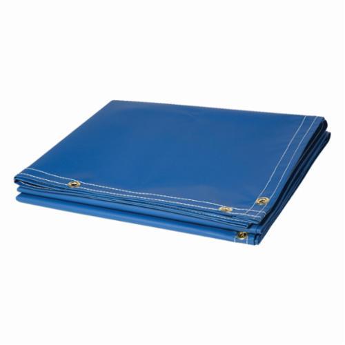 Steiner® 335-61 Flame Retardant Non-Transparent Welding Curtain Roll, 100 yd x 61 in W, 13 oz/sq-yd Fabric, Vinyl Laminated Polyester, Blue