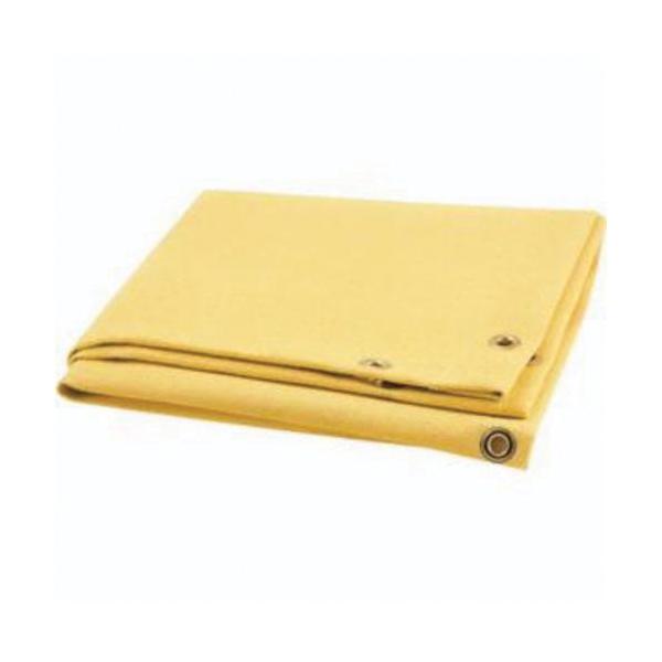 Steiner® ToughGuard™ 372-10X10 Heat Cleaned Light Duty Welding Blanket, 10 ft W x 10 ft L, 0.035 in THK, 18 oz/sq-yd Fabric, Fiberglass, Tan