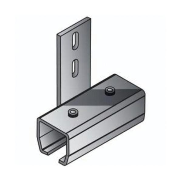 Steiner® Adjust-A-Wall™ 44301 In-Line Floor Mount Connector Track Splice