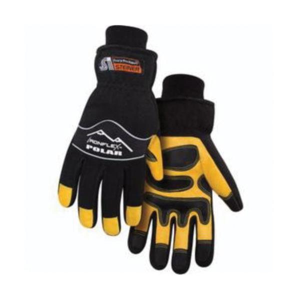 Steiner® Krazy Kap™ KK106-L Flame Retardant Cap, L, Black, 9 oz Cotton, Elastic Closure