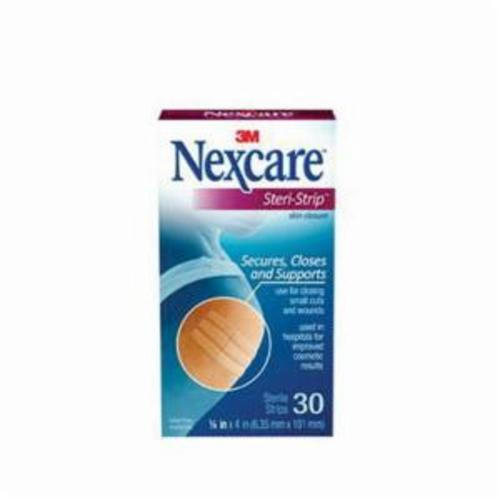 Steri-Strip™ Nexcare™ 051131-64124 Breathable, White