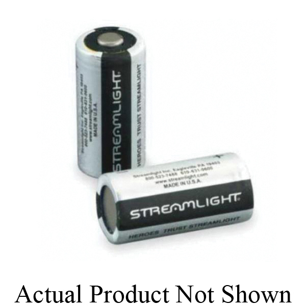 Streamlight® 85179 CR123A Lithium Battery, 3 V