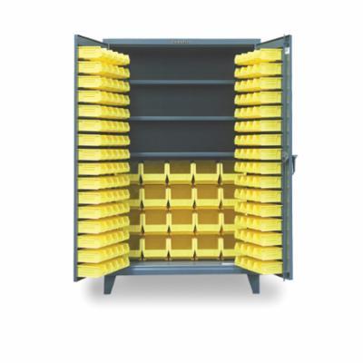 Strong Hold® 46-BB-240 Bin Cabinet, 48 in W x 78 in H, 184 Bins, Gray
