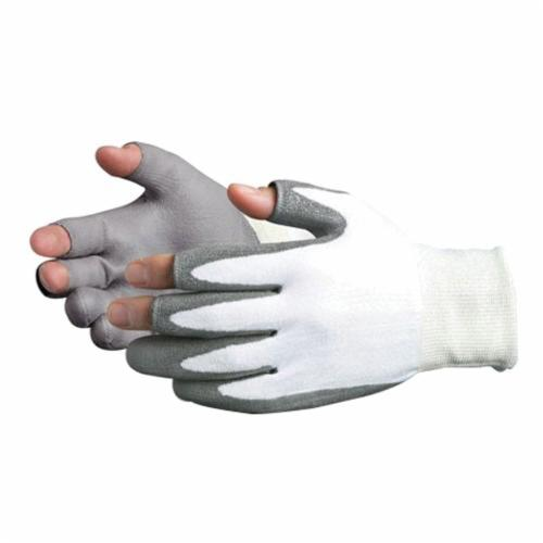 Superior Touch® S13SXPUQ-12 Cut Resistant Gloves, SZ 12, Polyurethane Coating, Dyneema®, String Knit Wrist Cuff, Resists: Abrasion, Cut and Puncture, ANSI Cut-Resistance Level: A2, ANSI Puncture-Resistance Level: 3
