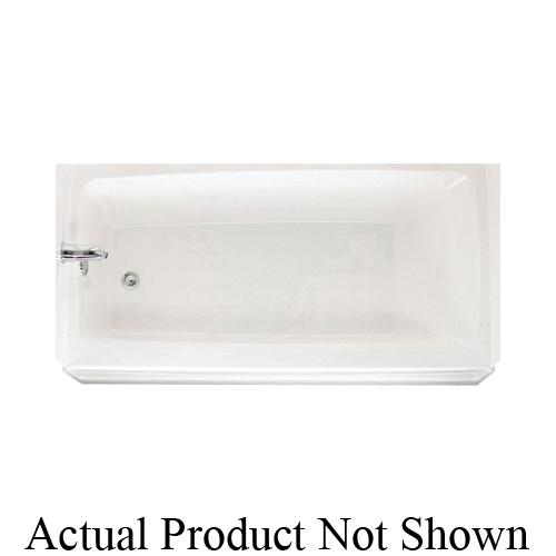 Swan® BT03060 LD.037 Bathtub, 60 in W, Left Drain, Bone, Domestic