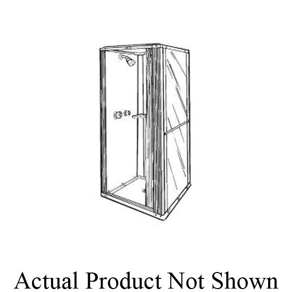Swan® FS03636.010 Free Standing Shower Cabinet, 36 in W x 36 in D, Premium Fiberglass