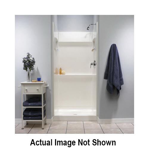 Swan® SA03448.010 Shower Alcove Wall Kit, 48 in W x 72 in H, Veritek®, Domestic