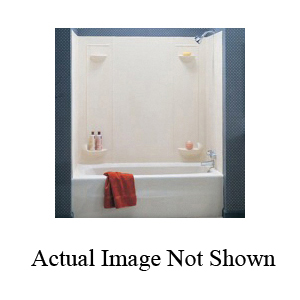 Swan® TF57000.037 Tub Wall Kit, 57 in H, Veritek®, Domestic