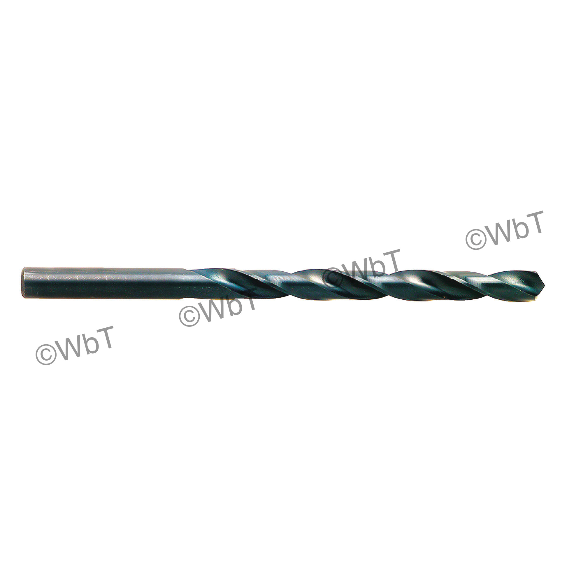 TTC 01-001-001 A1 Series Surface Treated Jobber Length Drill Bit, 1/64 in Drill - Fraction, 0.0156 in Drill - Decimal Inch, 118 deg Point, HSS, Black Oxide