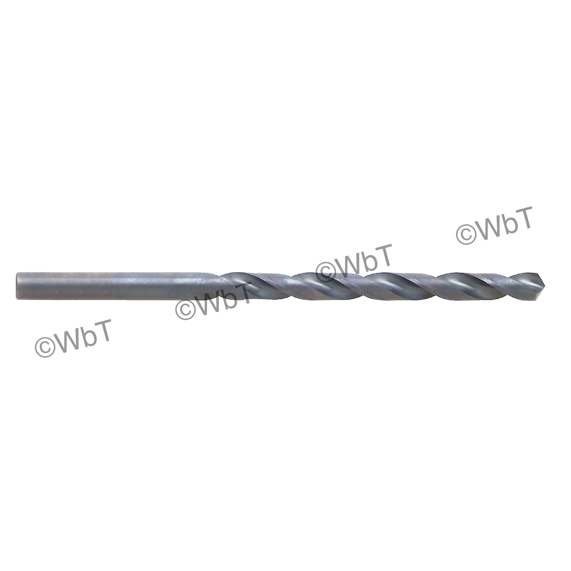TTC 01-001-432 A1-MG Surface Treated Jobber Length Drill Bit, 1/2 in Drill - Fraction, 0.5 in Drill - Decimal Inch, 118 deg Point, HSS, Black Oxide