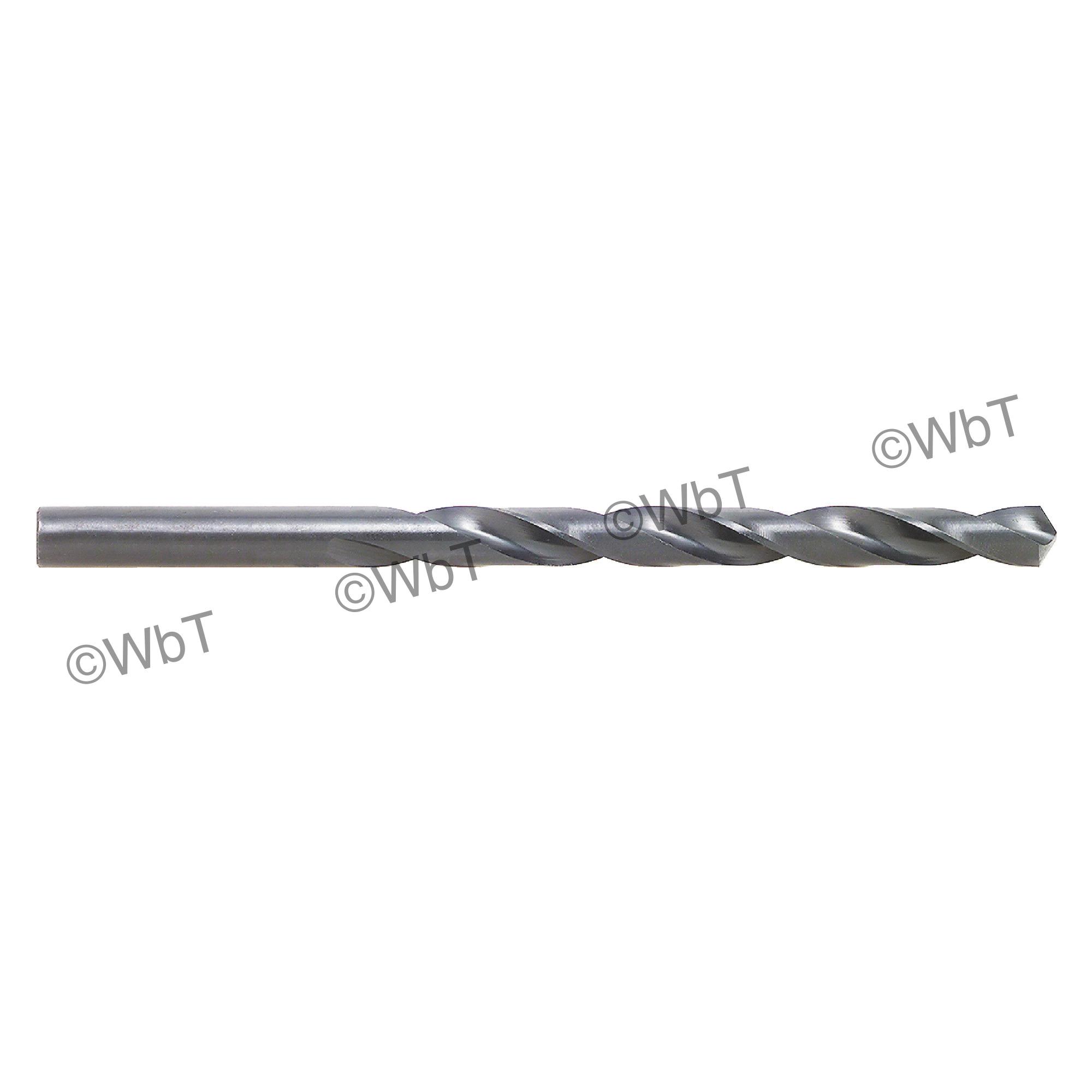 TTC 01-002-242 A2-HD Surface Treated Jobber Length Drill Bit, #42 Drill - Wire, 0.0935 in Drill - Decimal Inch, 135 deg Point, HSS, Black Oxide