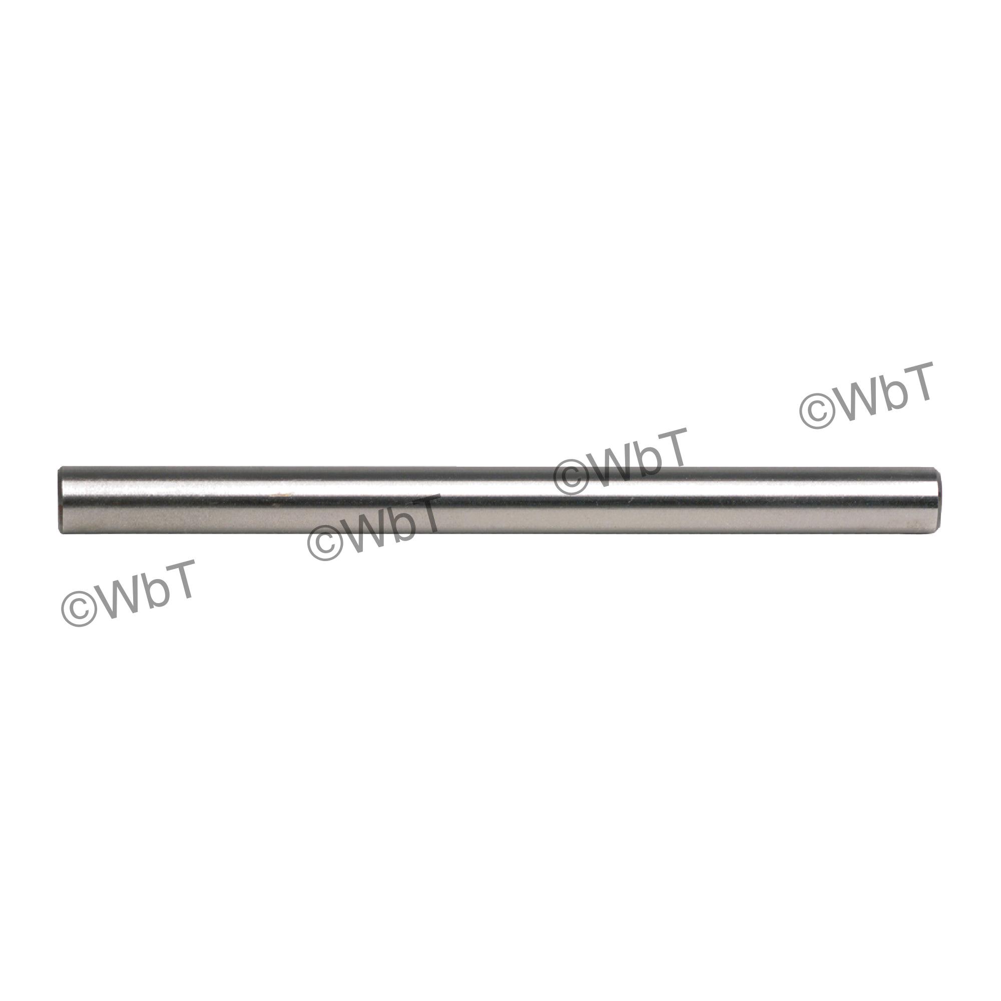 TTC 01-100-008 A20 General Purpose Jobbers Length Straight Shank Drill Blank, 2-3/4 in L, HSS