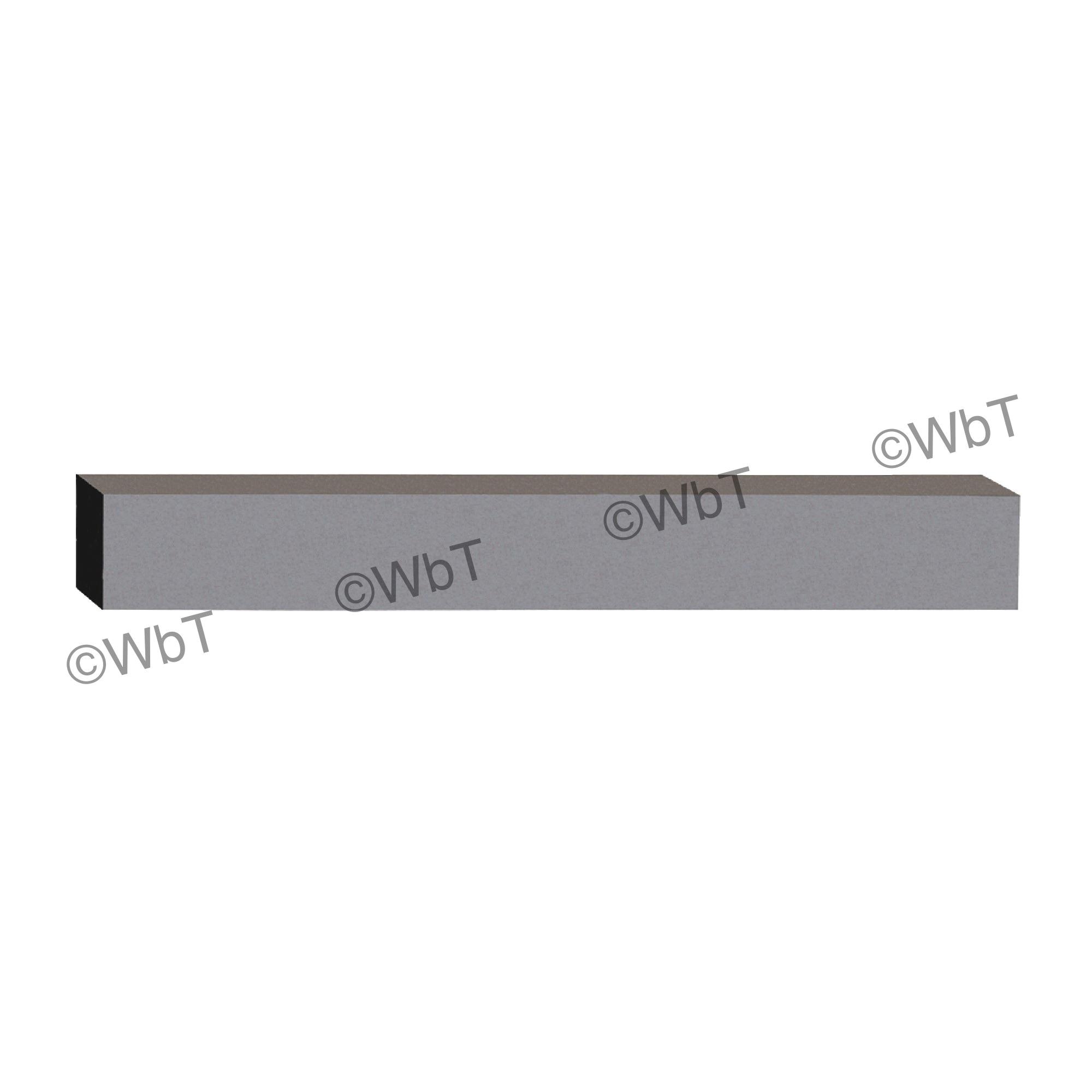 TTC 01-100-032 A20 General Purpose Jobbers Length Straight Shank Drill Blank, 6 in L, HSS