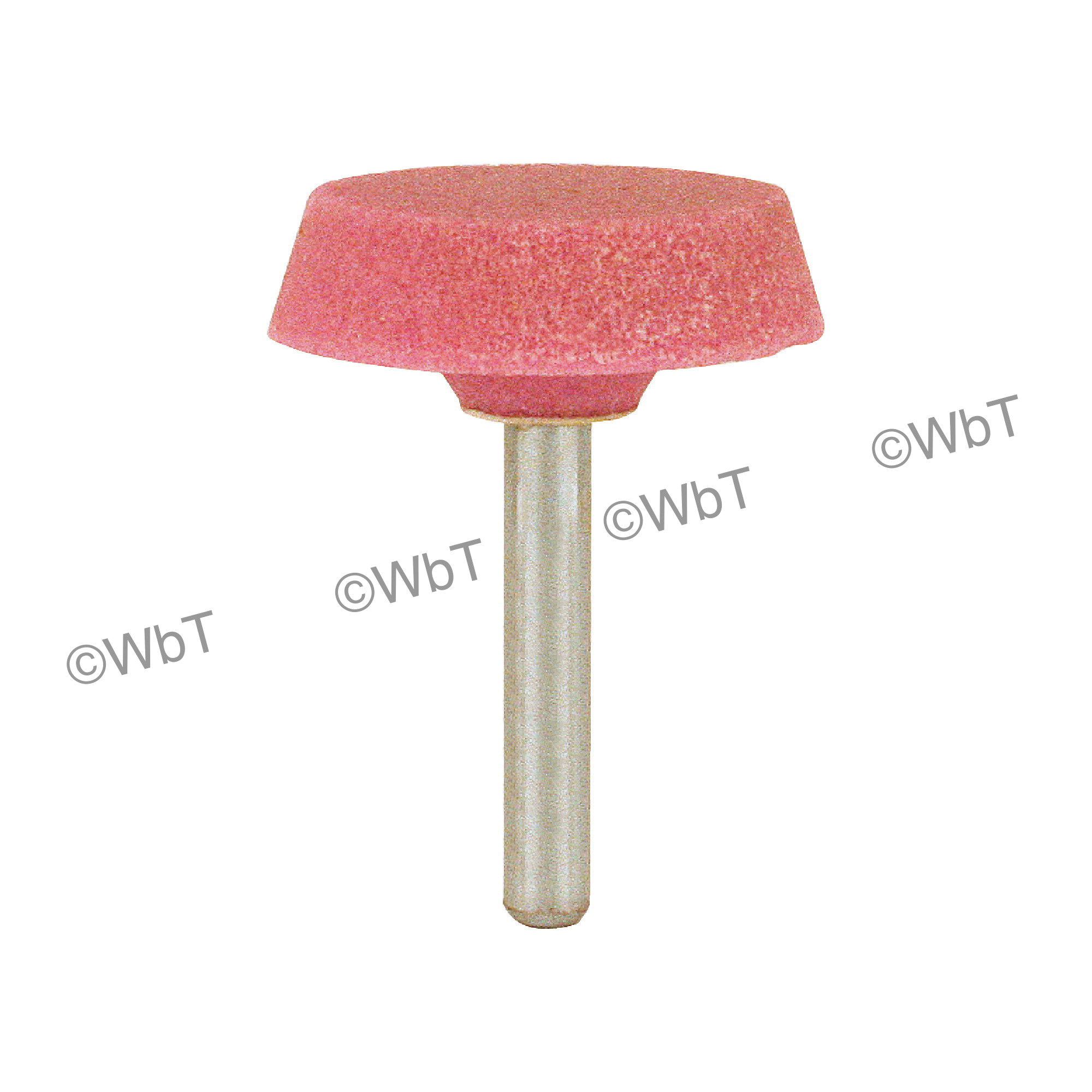 TTC 53-500-031 Group A Mounted Stone, A31, 1 in Dia x 1-3/8 in L Head, 1/4 in Dia Shank