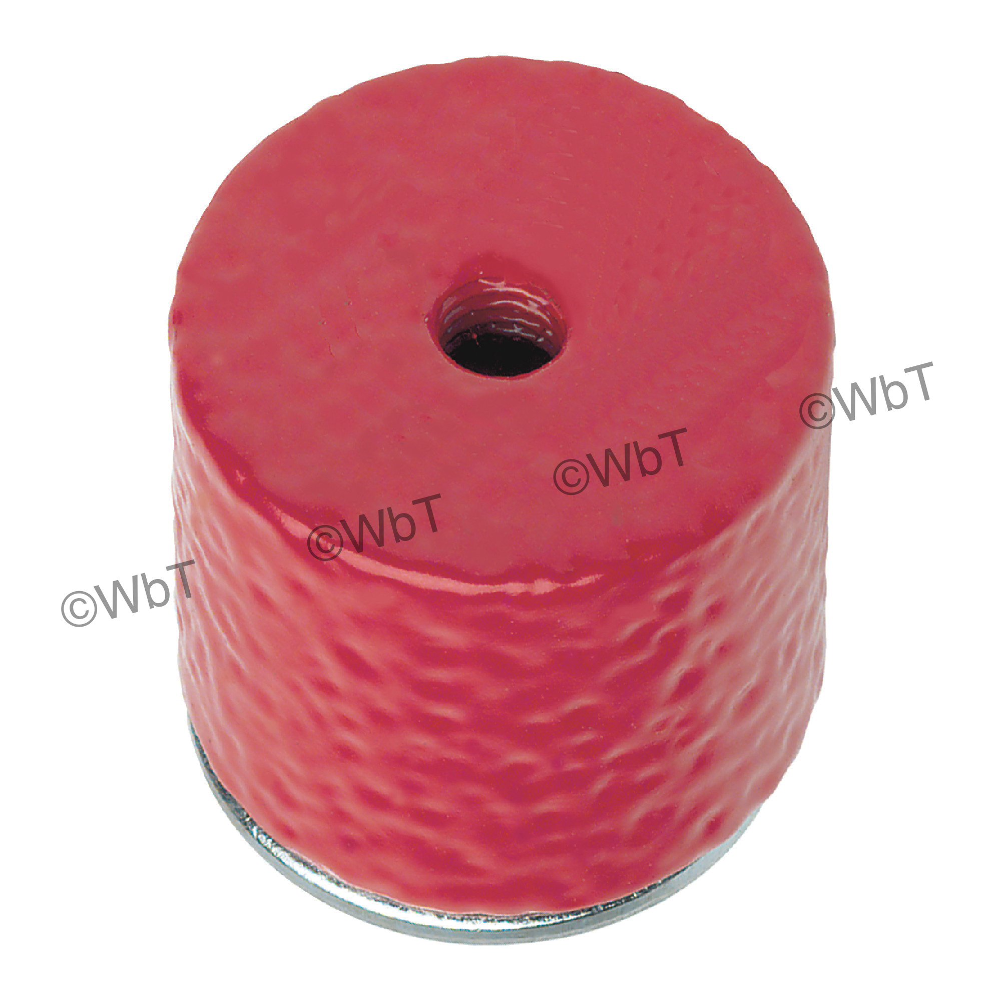 GENERAL® 376D Shallow Pot Magnet, 7/16 in H, Ceramic