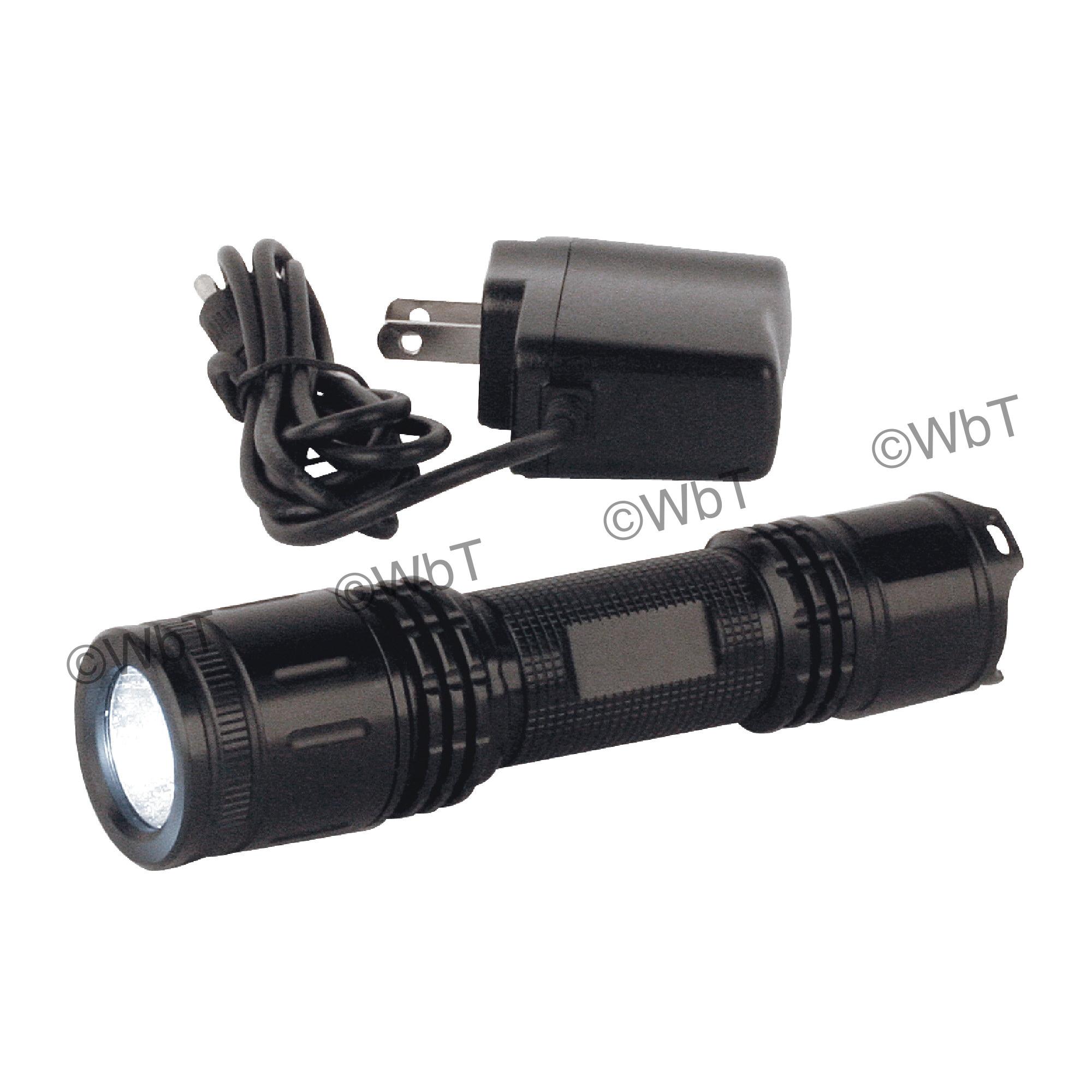 TTC 96-004-645 High Strength Flashlight, 3 W, LED Bulb, 200 Lumens Lumens