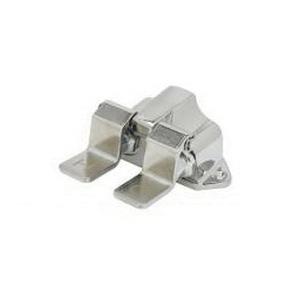 T & S B-0502 Floor Mount Double Pedal Valve, 5 in L x 5-5/16 in W x 2-9/16 in H, 1/2 in FNPT Thread, Brass, Domestic