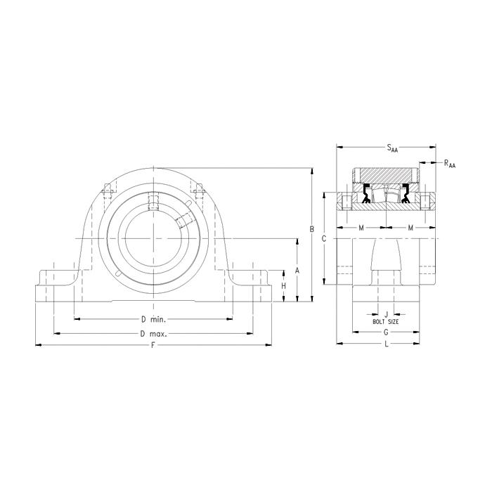 Timken® QAAP11A204SM