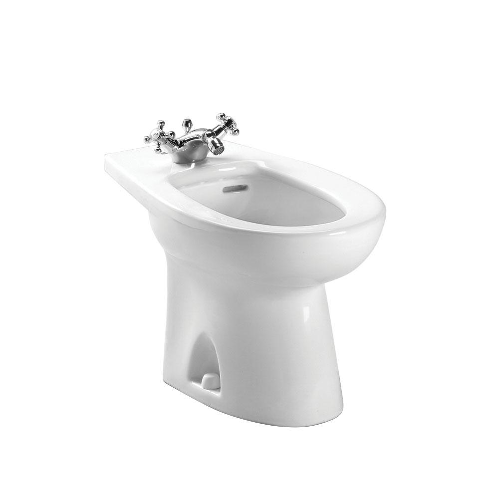 Toto® BT500AR#01 Contemporary Sleek Bidet Toilet, Piedmont®, 15 in H Rim, 8-1/4 in Rough-In, Cotton White, Import