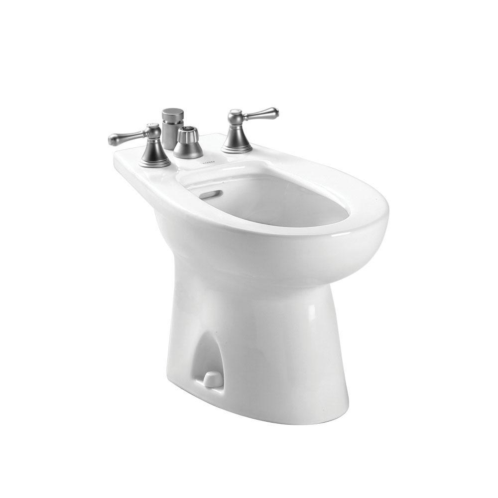 Toto® BT500B#01 Bidet Toilet, Piedmont®, 13-3/4 in Rough-In, Cotton White, Import