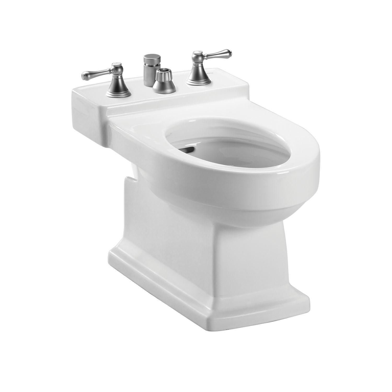 Toto® BT930B#01 Bidet Toilet, Lloyd™, 15 in H Rim, 14 in Rough-In, Cotton White, Import