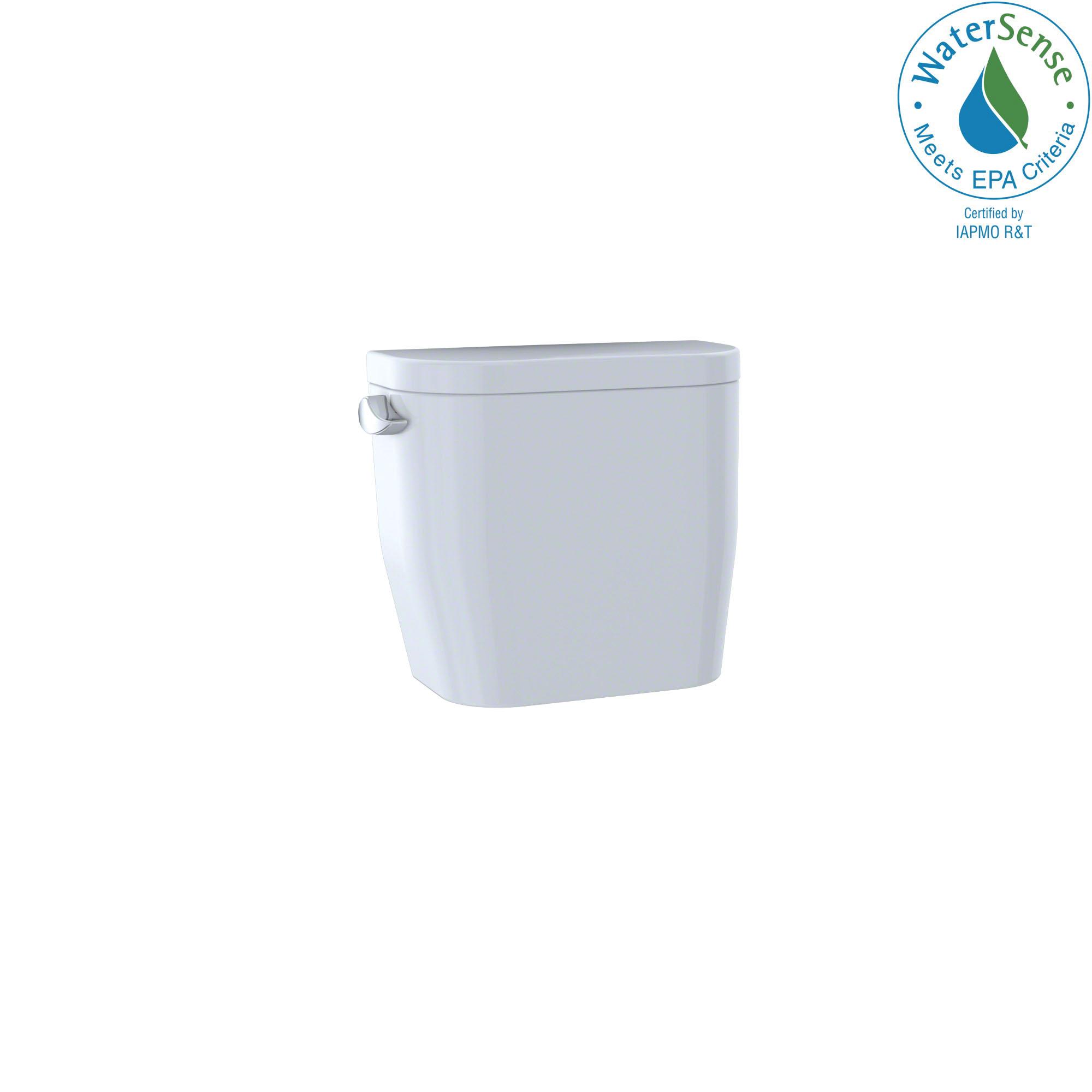 Toto® ST243E#01 Tank and Cover, 1.28, Left Hand Lever Flush, Cotton White, Import