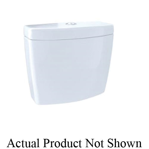Toto® ST416M#01 Tank and Cover, 0.9/1.6, 2 in Pushbutton Flush, Cotton
