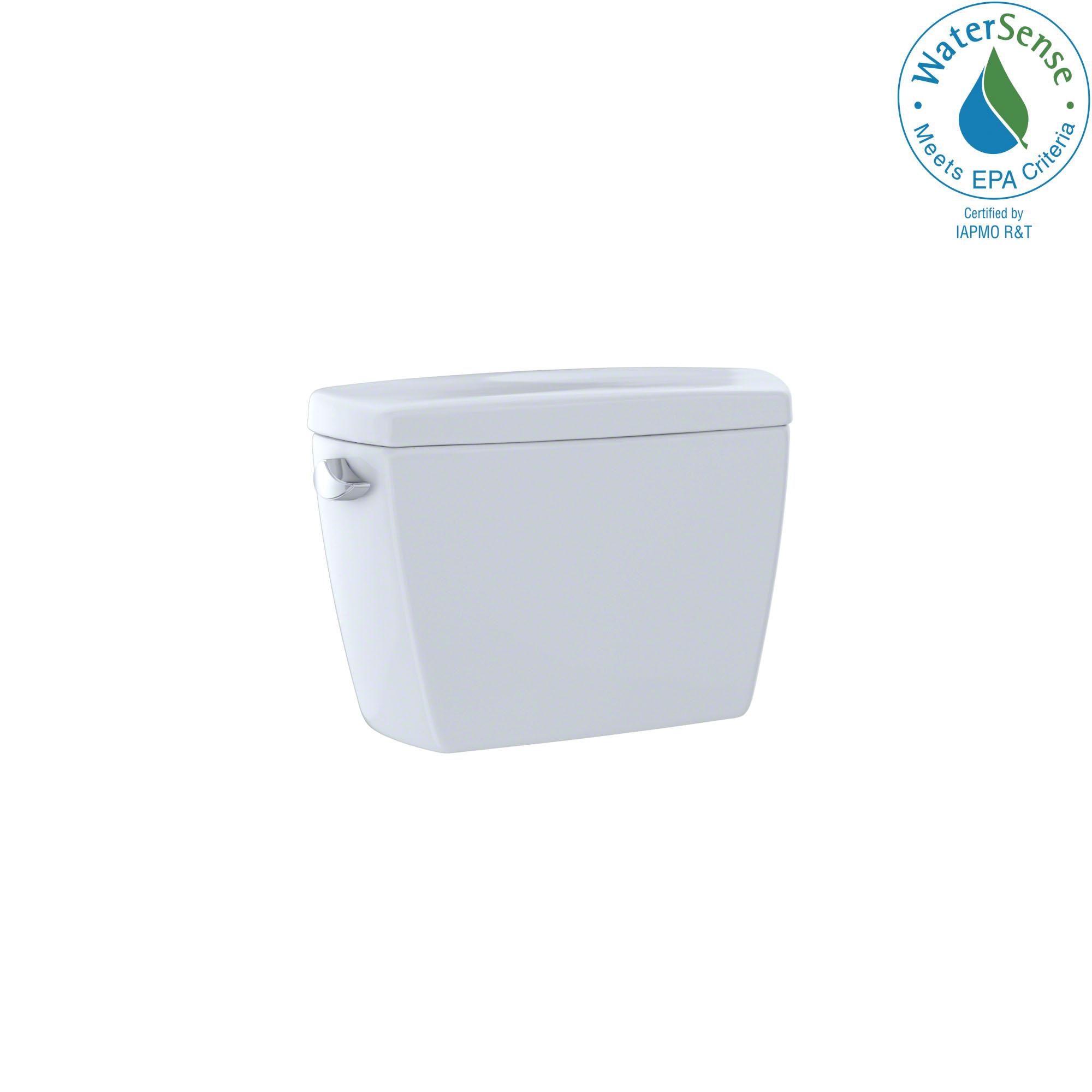 Toto® ST743E#01 Toilet Tank, 1.28, Left Hand Lever Flush, Cotton White, Import