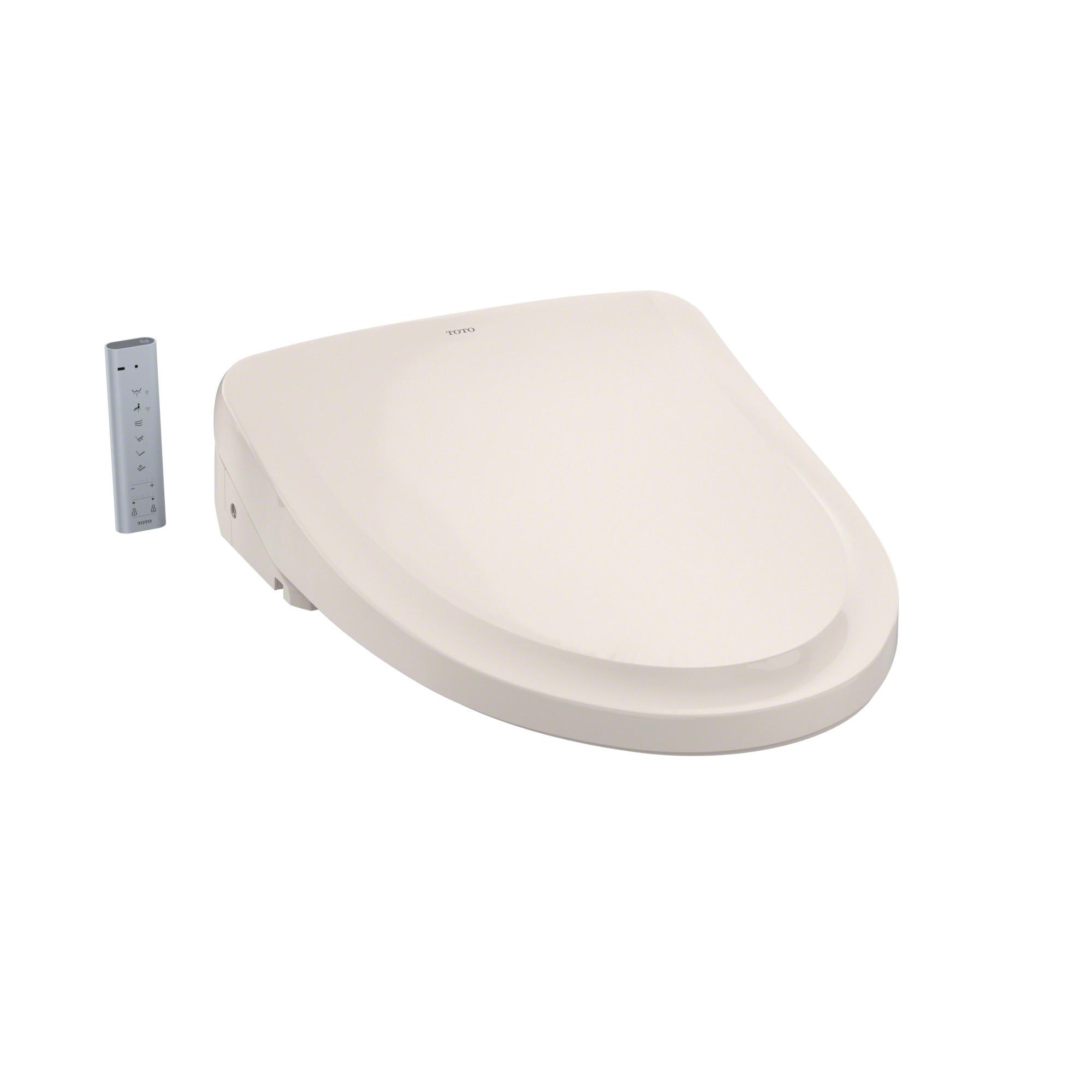 Toto® SW3054#12 WASHLET® S550e Electronic Bidet Toilet Seat With ewater+® Technology, Elongated Bowl, Auto Open/Closed Front, Plastic, Sedona Beige, Import