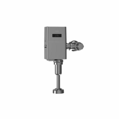 Toto® TEU1UA12#CP Ultra High Efficiency Urinal Flush Valve, EcoPower®, 0.125 gpf Flush Rate, 3/4 in NPT Inlet, 43558 in Spud, 15 to 125 psi Pressure, Polished Chrome